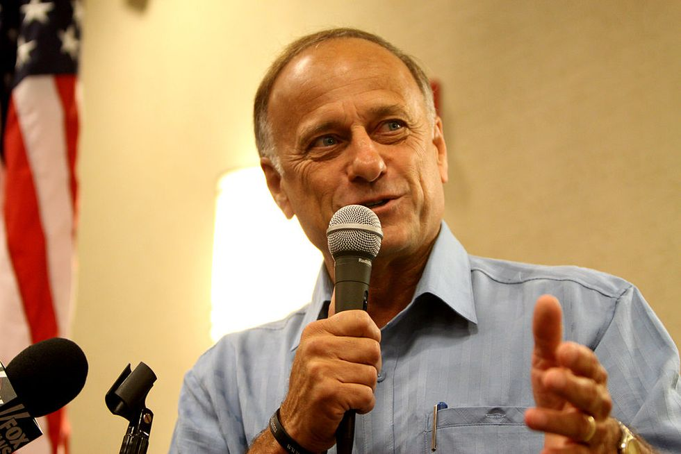 Congressman Steve King wrongly outs George Soros' son as Trump whistleblower