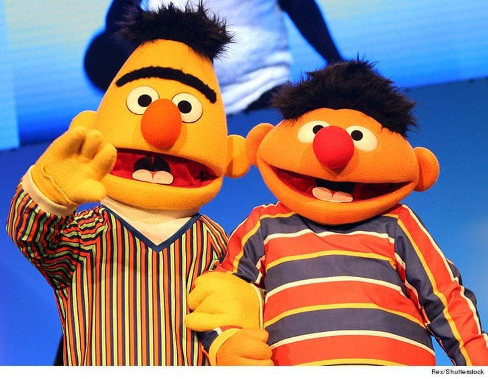 Sesame Street Issues Statement Denying Bert and Ernie Are a Gay Couple  -  And that's a Problem