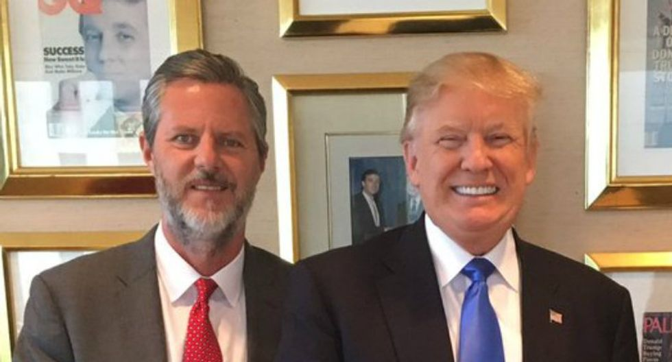 New details revealed in the bizarre story of Jerry Falwell Jr, Michael Cohen, a pool boy and 'compromising photographs'