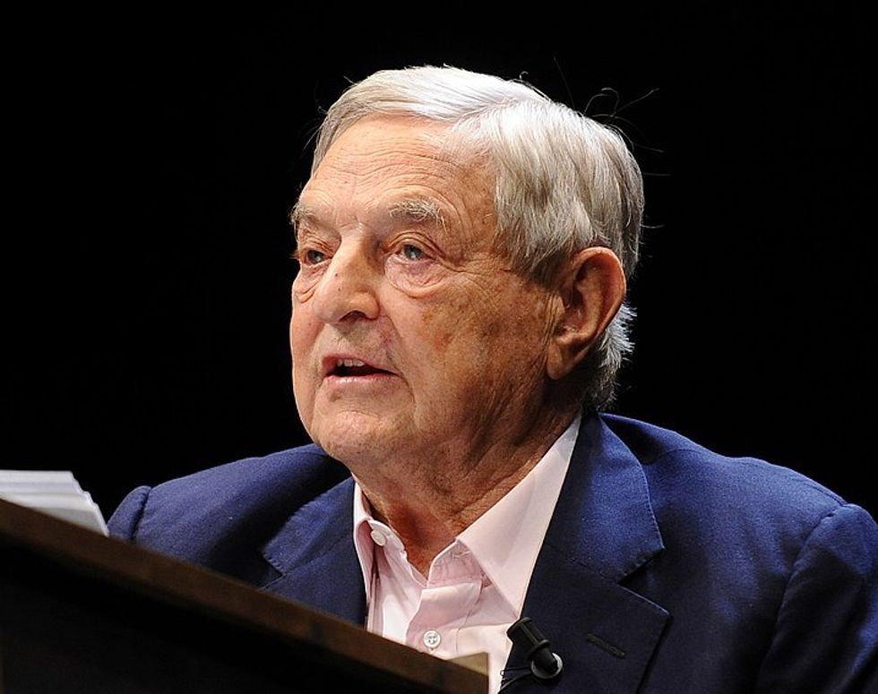 Republicans Release Ad Declaring George Soros a 'Radical' Just Days After He Received a Bomb in the Mail