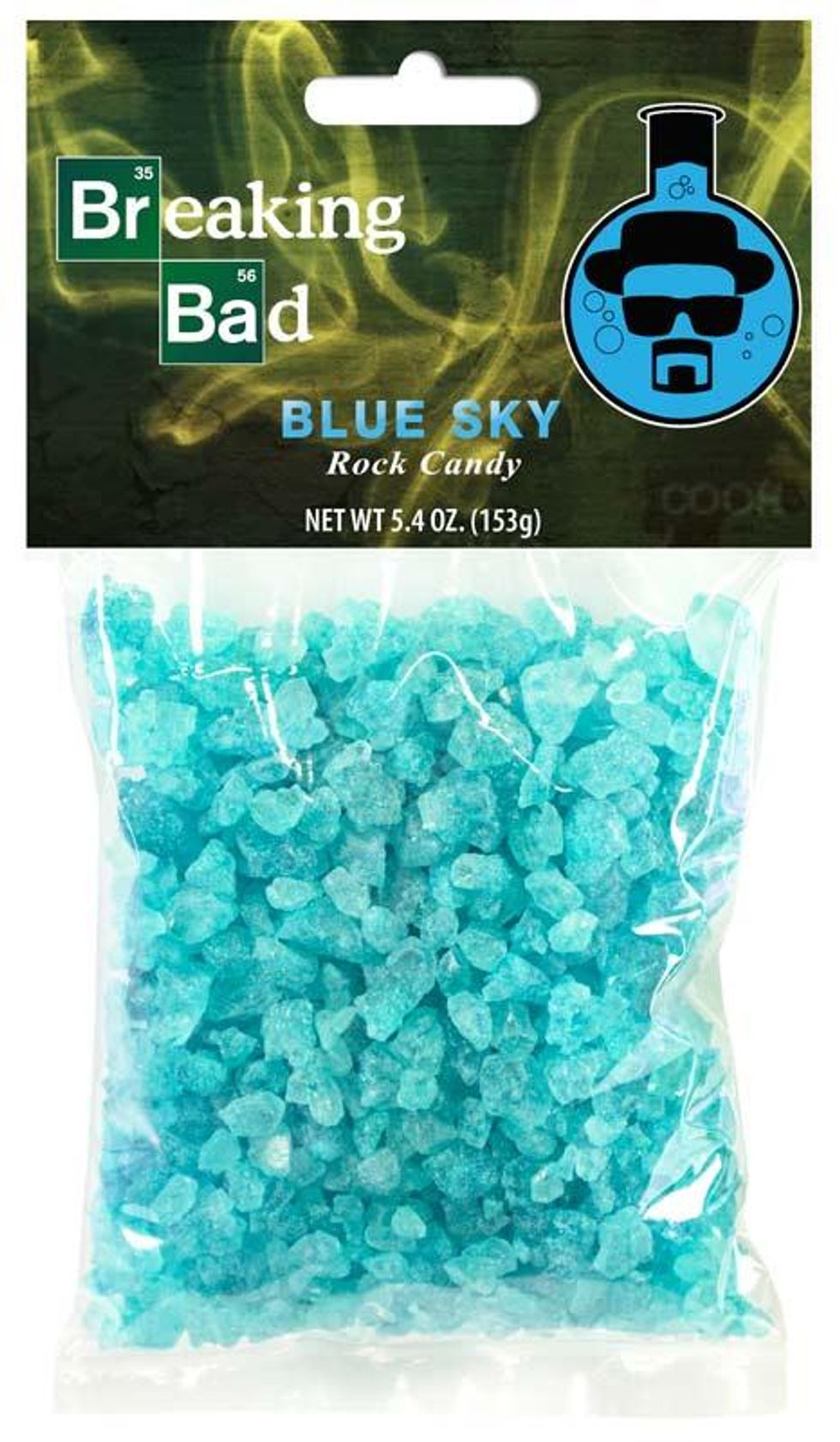 This 'Breaking Bad' Candy Shaped Like the Show's Blue Meth Is a Really Bad Idea