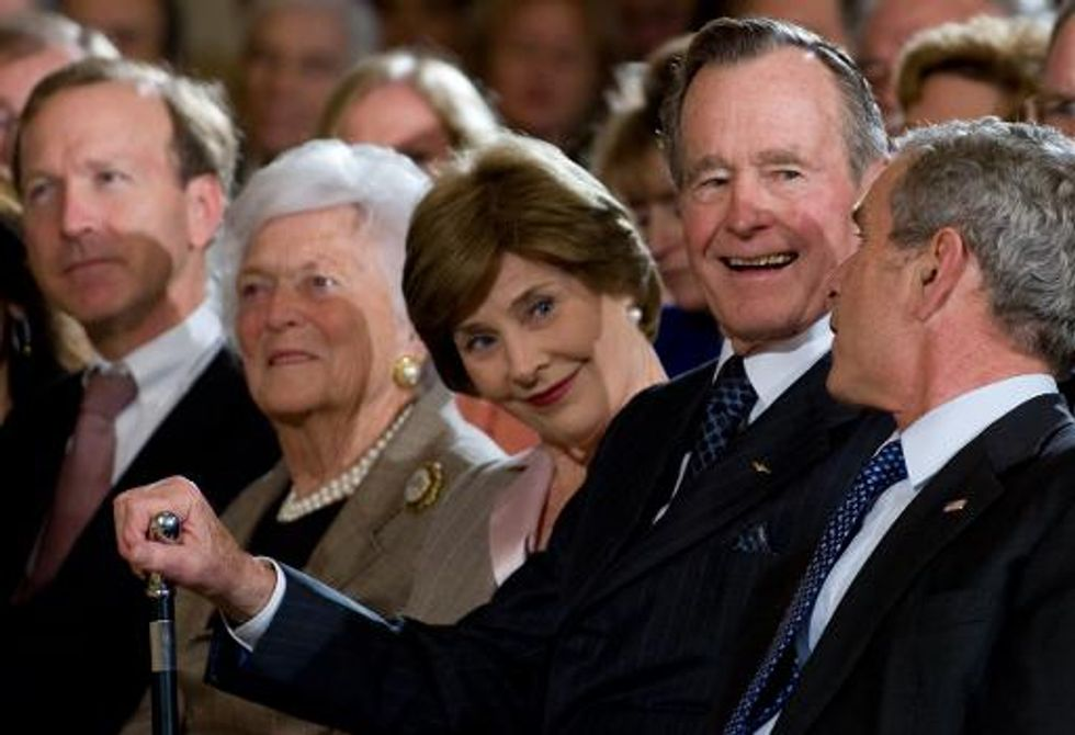 George H.W. Bush's entitlement cool