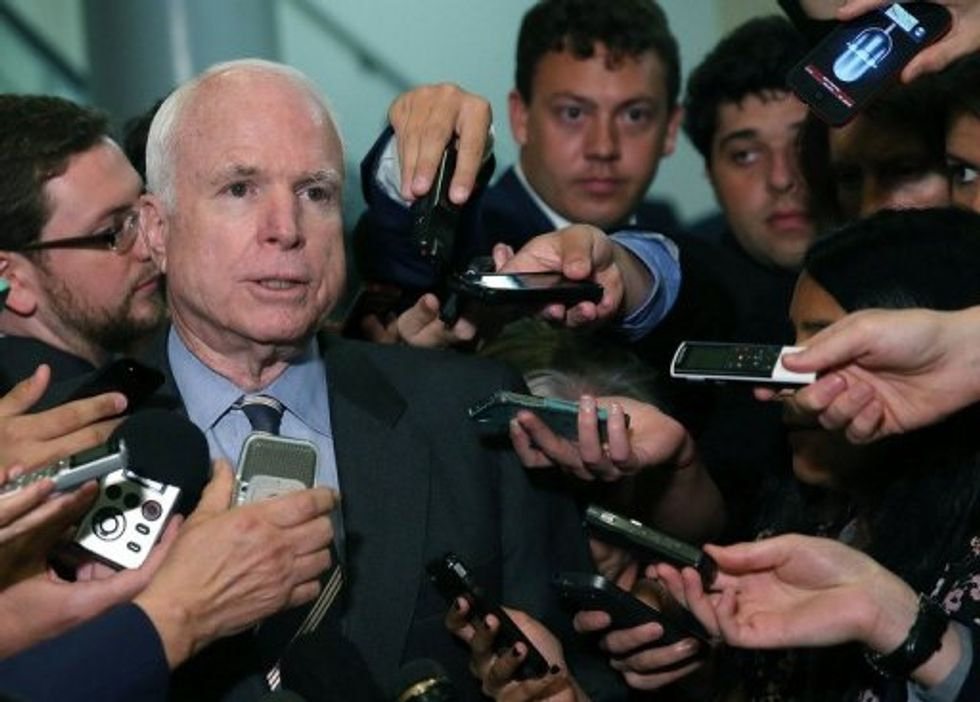 Renaming a Senate Office Building After John McCain Seemed Like a Slam Dunk  -  Then Republicans Hit a New Low