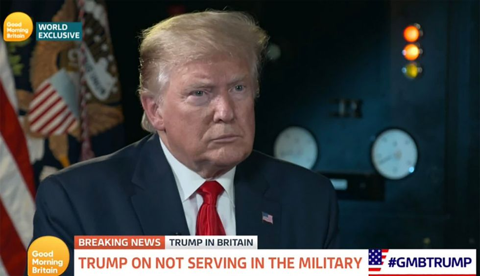 Trump admits many US transgender troops would be 'phenomenal' — then defends his ban with lies
