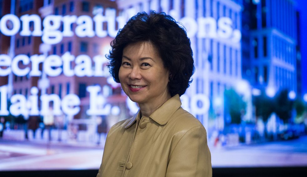 FOIA'd emails raise serious ethics concerns over Elaine Chao's canceled trip to China: report