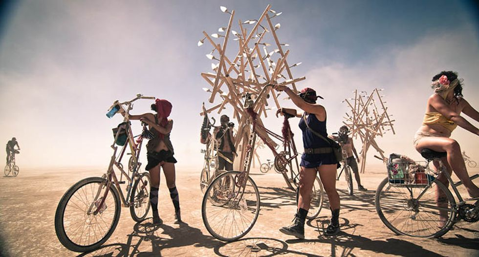 Here's what Burning Man can teach us about building better communities