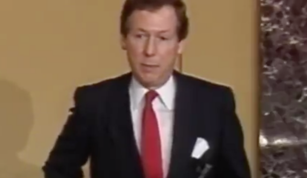 Newly uncovered video exposes Mitch McConnell's corrupt flip-flop on millionaires funding campaigns