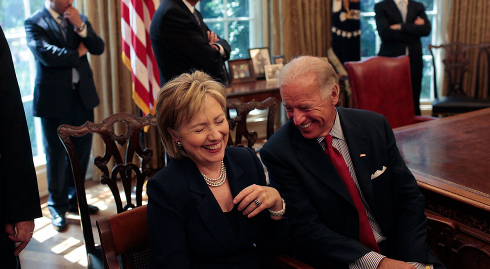 Fox News is already prepping to recycle its favorite Hillary Clinton smear and use it against Joe biden