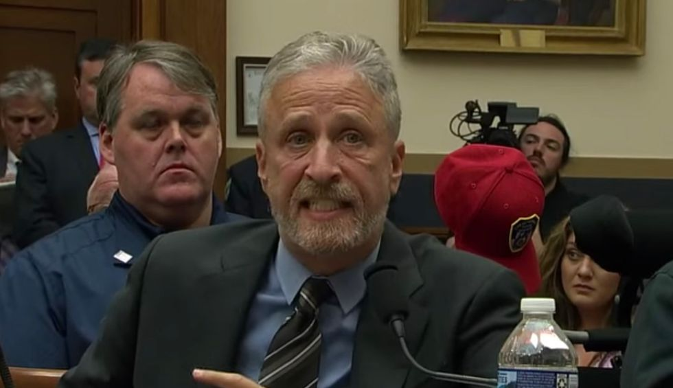 Jon Stewart blasts Congress for failing 9/11 first responders in emotional testimony for the Victims Compensation Fund: 'They did their jobs — do yours!'
