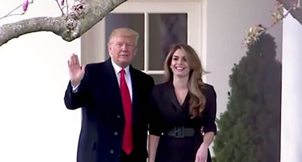 House Dems slam Hope Hicks and her White House lawyer for refusing to answer questions: 'Ridiculous!'