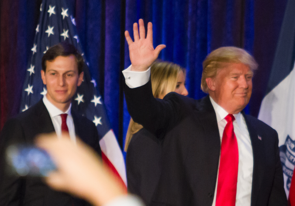 Trump wasn't happy with Jared Kushner after his disastrous answer about birtherism: report