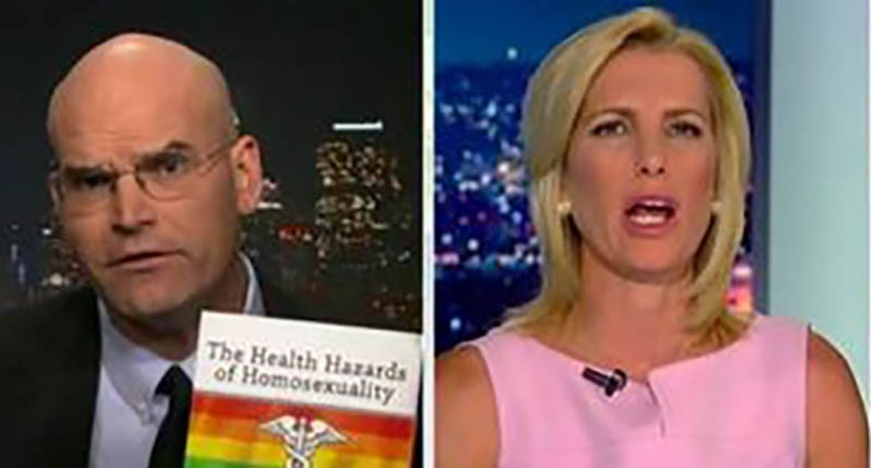 Fox news segment goes off the rails as anti-gay hate group head promotes 'health hazards of homosexuality' book on-air