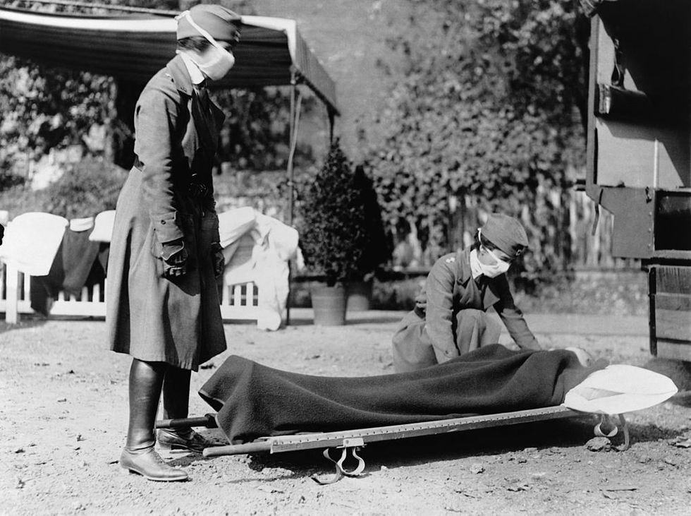 Zombie flu: How the 1919 influenza pandemic fueled the rise of the living dead