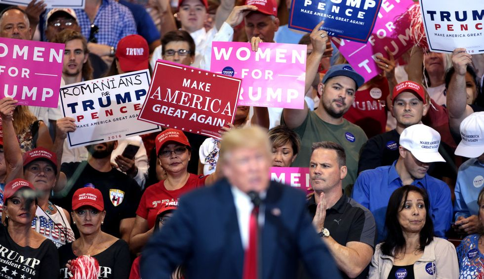 They 'just want to watch the world burn': Psychological analysis reveals the 14 key traits that explain Trump supporters