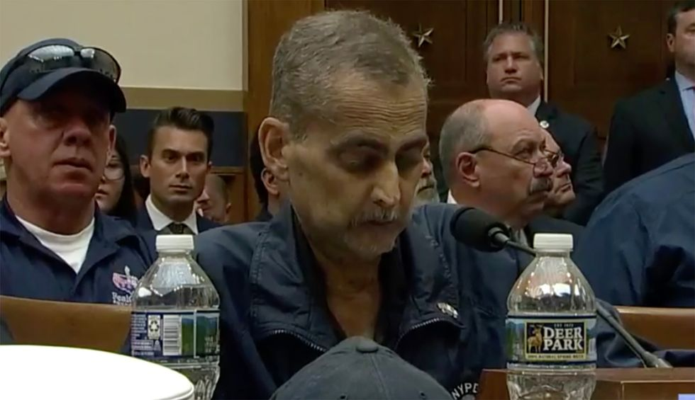 9/11 first responder who testified to Congress with Jon Stewart last week has entered hospice care