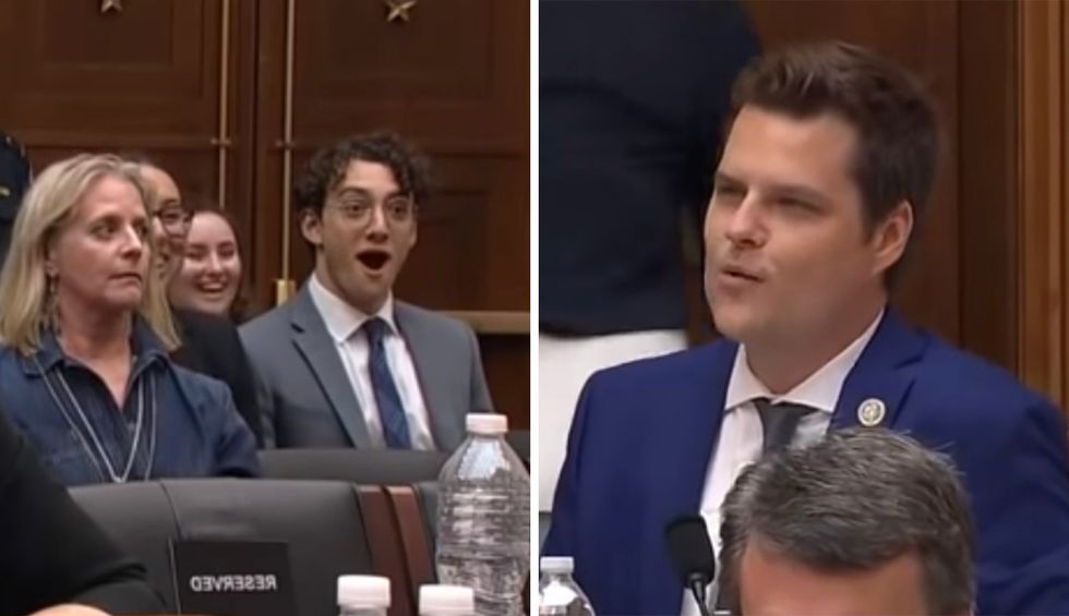 House committee attendees laugh at GOP's Matt Gaetz after his attempt to derail Mueller hearing hilariously backfires