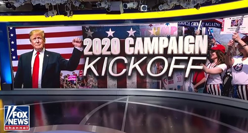 FOX & Friends completes transformation into official Trump media headquarters by shamelessly airing 'exclusive sneak peak' into 2020 campaign