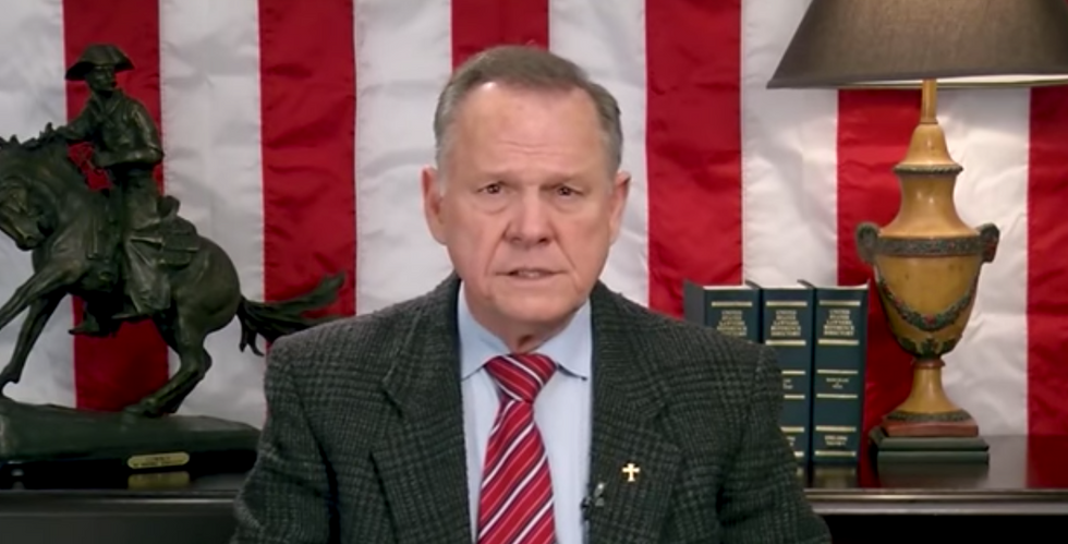 Roy Moore sues right-wing publication for reporting sexual misconduct allegations