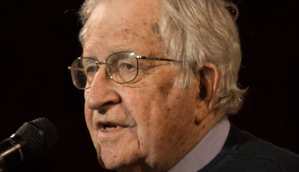 Noam Chomsky: We are racing madly towards total catastrophe under the leadership of sociopathic fanatics