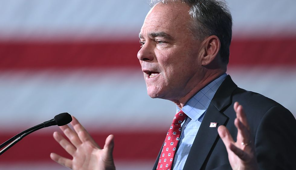 Senators Tim Kaine and Mike Lee predict as many as 10 Republicans will support war powers resolution