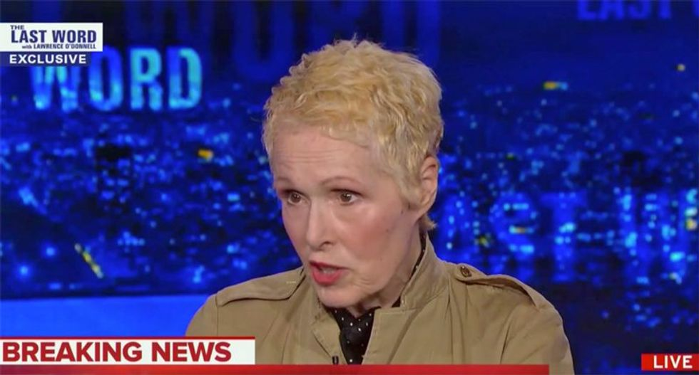 E Jean Carroll says it would be 'disrespectful' for her to file First Degree Rape charges against Donald Trump