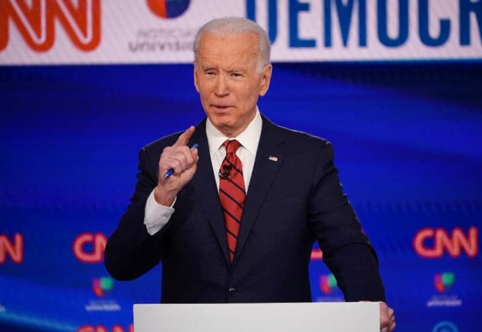 Biden commits to female running mate if he is Democratic nominee