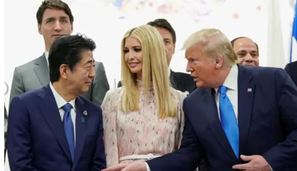 Former White House Republican blasts Ivanka's 'sad and pitiful' attempts to break onto the world stage