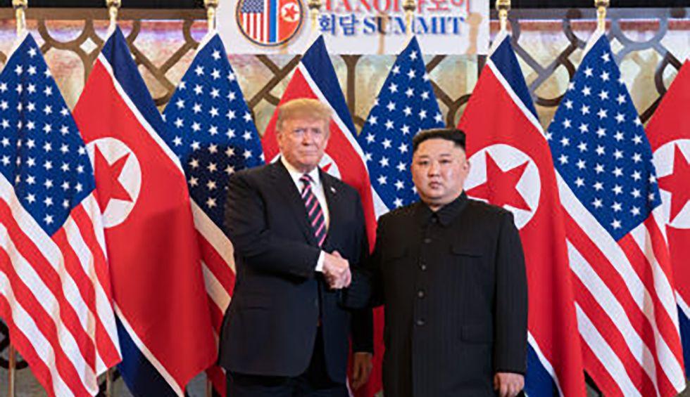 From Osaka to Seoul to Washington, Trump puts his inanity on full display