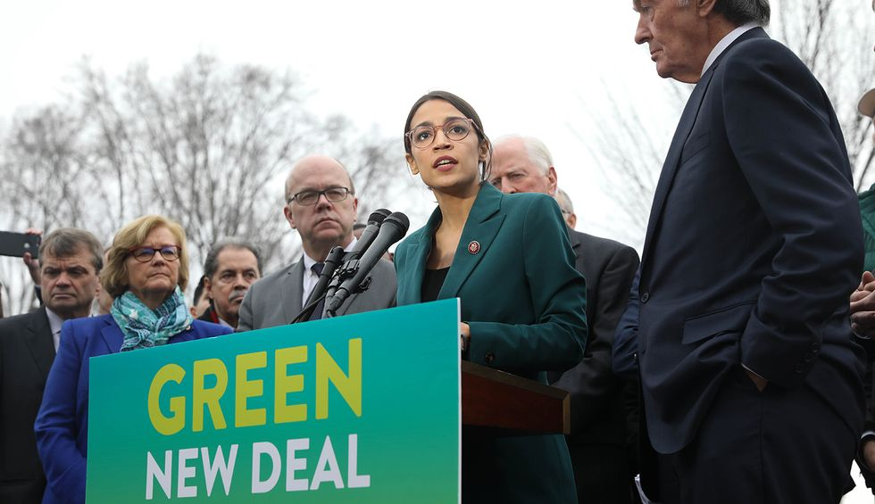 'Exactly what we need': Alexandria Ocasio-Cortez revolts against DCCC with new PAC designed to challenge centrist Democrats