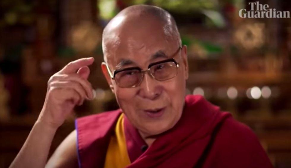 Dalai Lama says Trump has a 'lack of moral principle'