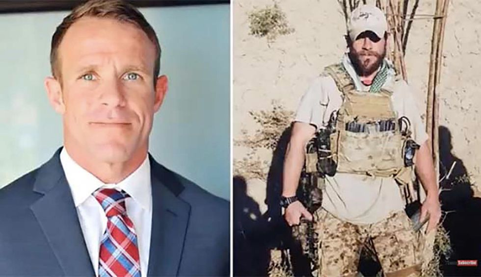 War criminal pardoned by Trump endangers active-duty Navy SEALs with video labeling them 'cowards'