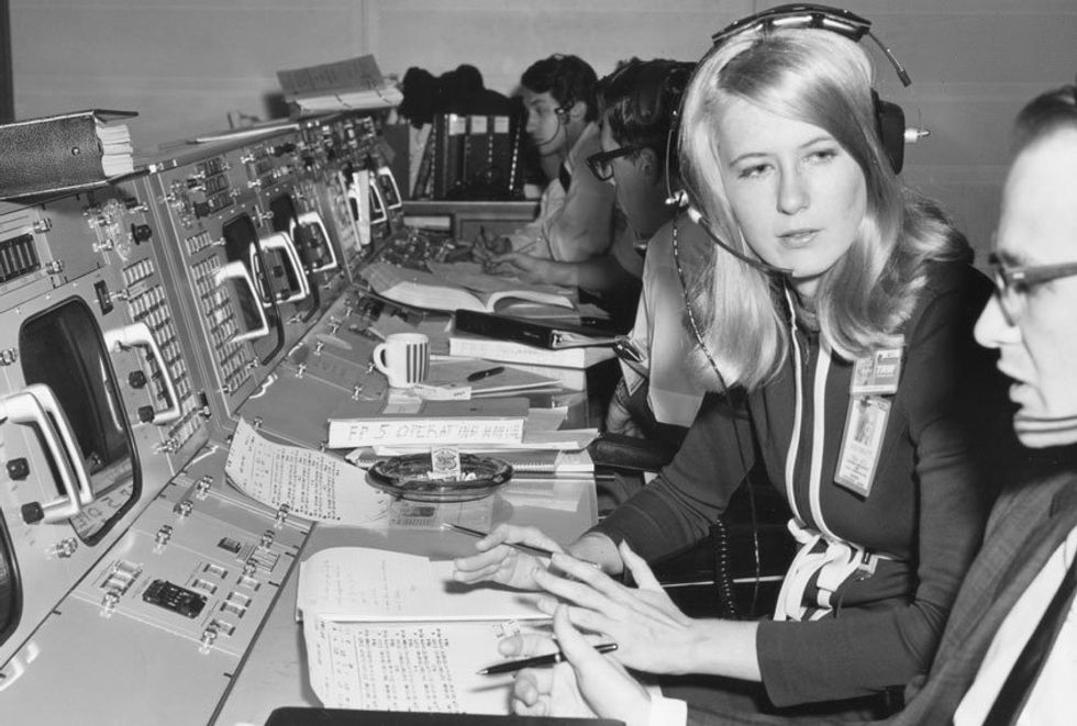 How Poppy Northcutt became the first woman in the Apollo mission control room
