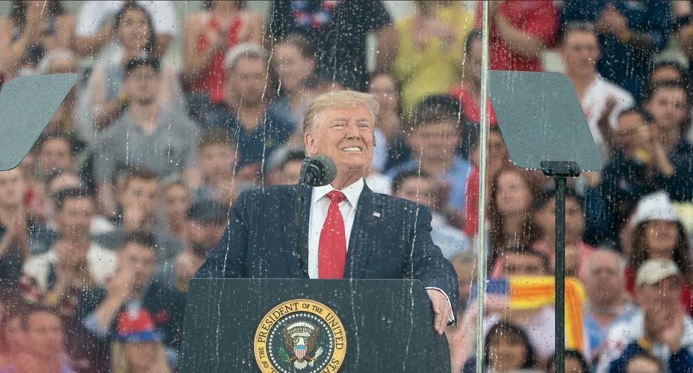 Trump's fake patriotism will win votes