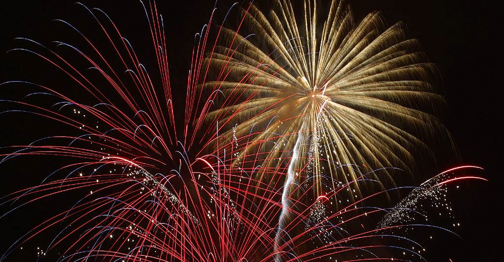 Here's the history and science behind fireworks — and why blue is the hardest color to create