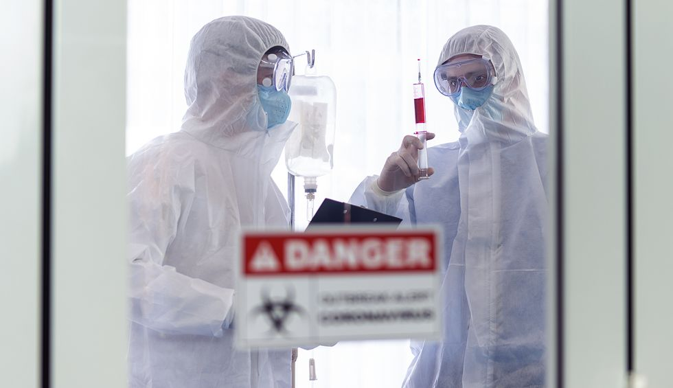 Coronavirus truthers have been 'filming quiet hospital parking lots' in an attempt to 'downplay' the coronavirus death toll
