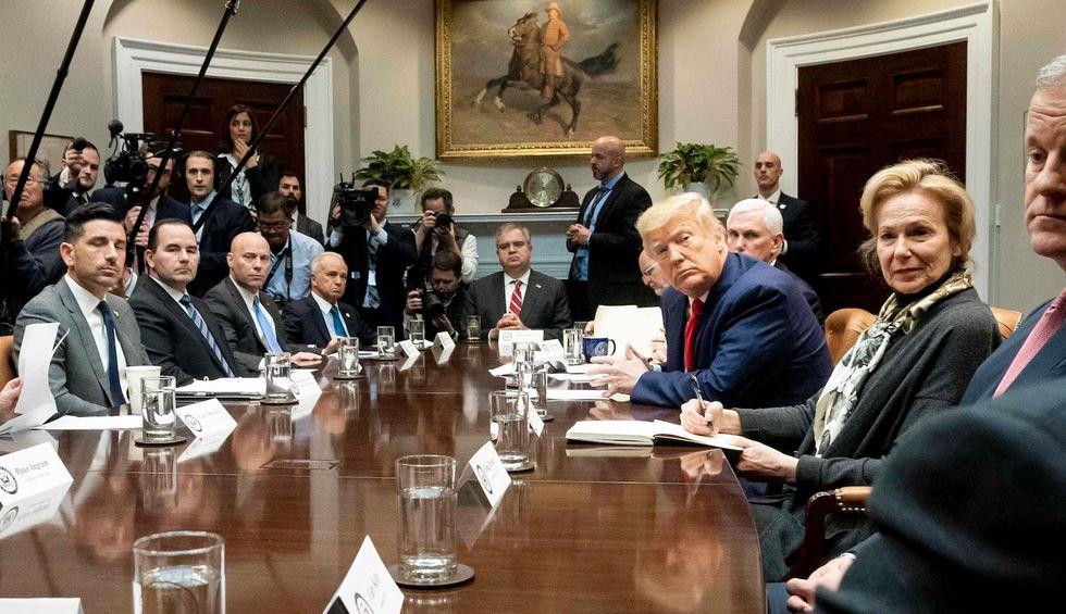 Trump White House blocks states from expanding Medicaid to fight coronavirus
