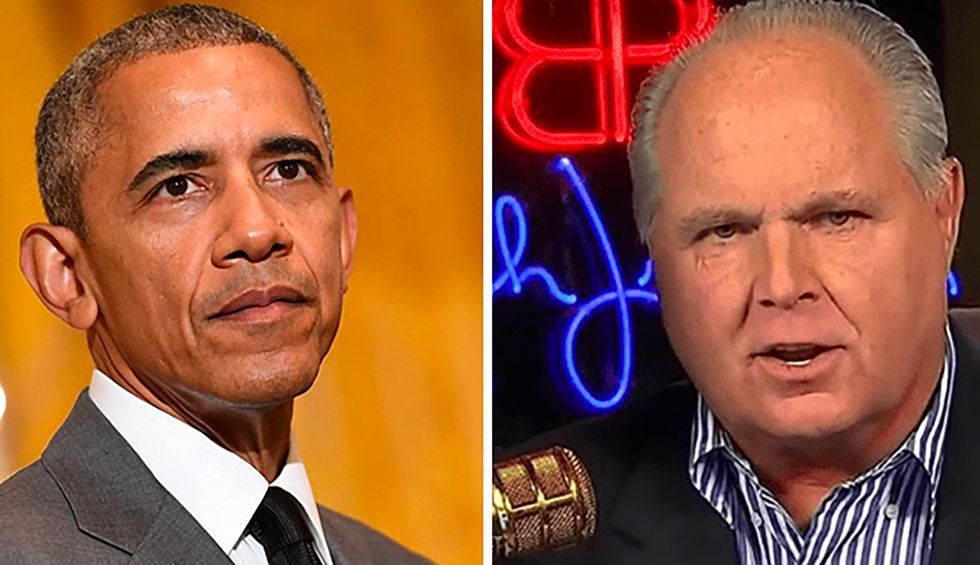 How the race-baiting invective of Rush Limbaugh on the Obama presidency led to Trump