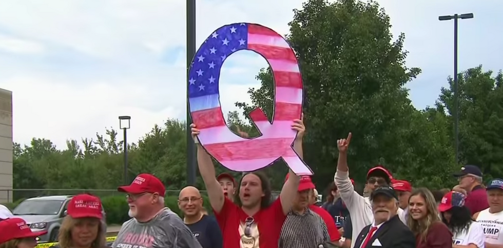 Trump campaign staffer went on a QAnon program to recruit volunteers: report
