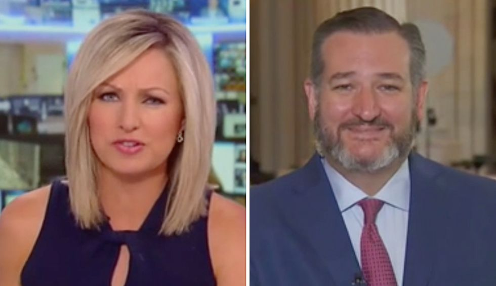 Fox News host corners Ted Cruz as he tries to dodge question about Alex Acosta's lenient plea deal for Jeffrey Epstein by blaming Democrats