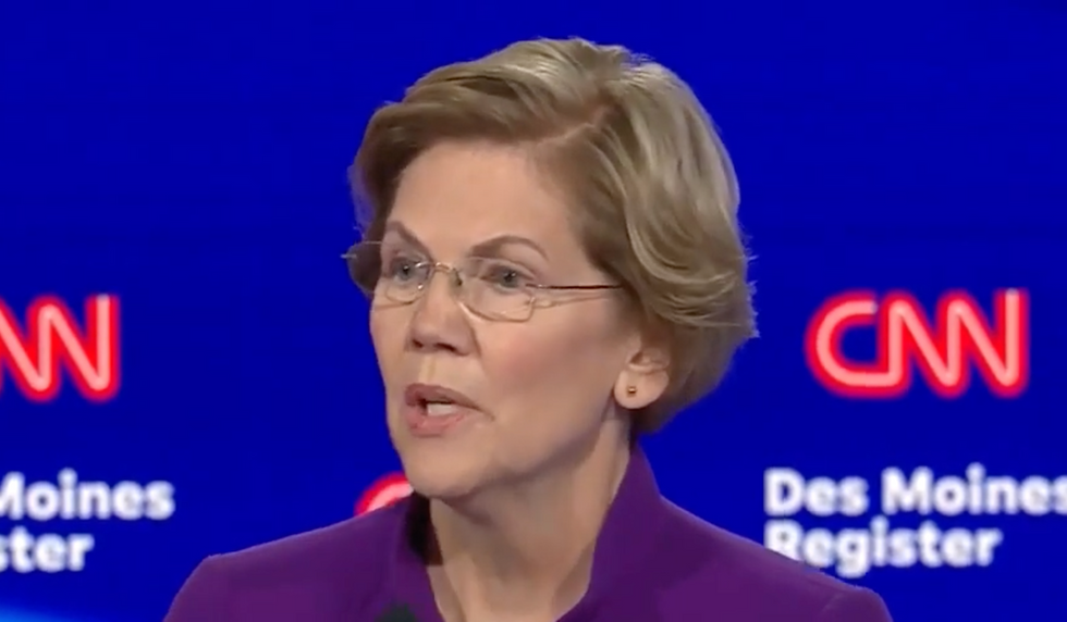 Here's Elizabeth Warren's powerful response to those who say a woman can't beat Trump in 2020