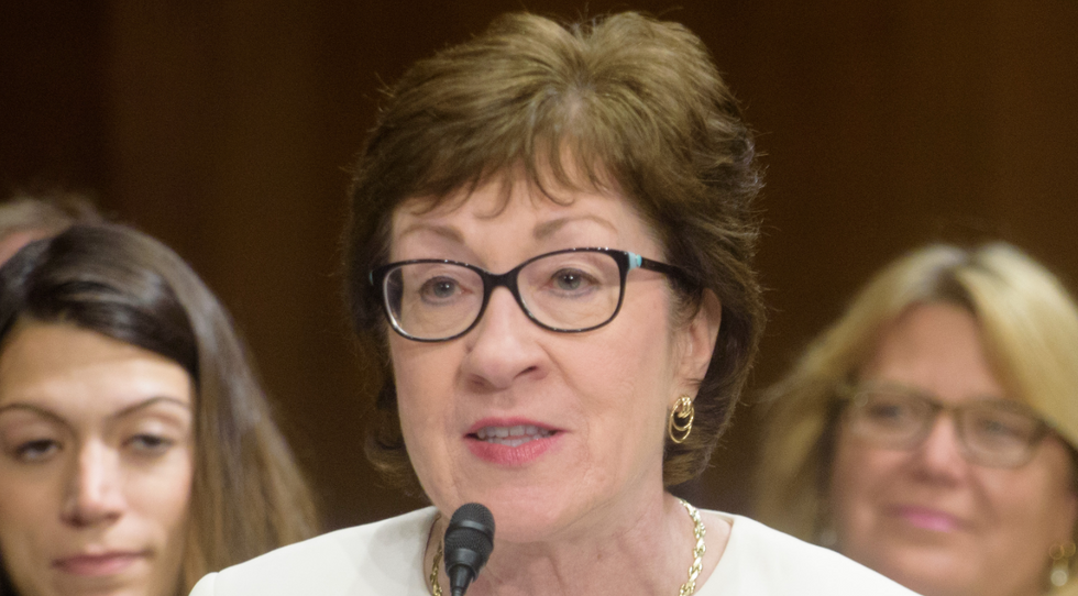 Susan Collins now has the highest disapproval of any US senator -- thanks to Trumpism