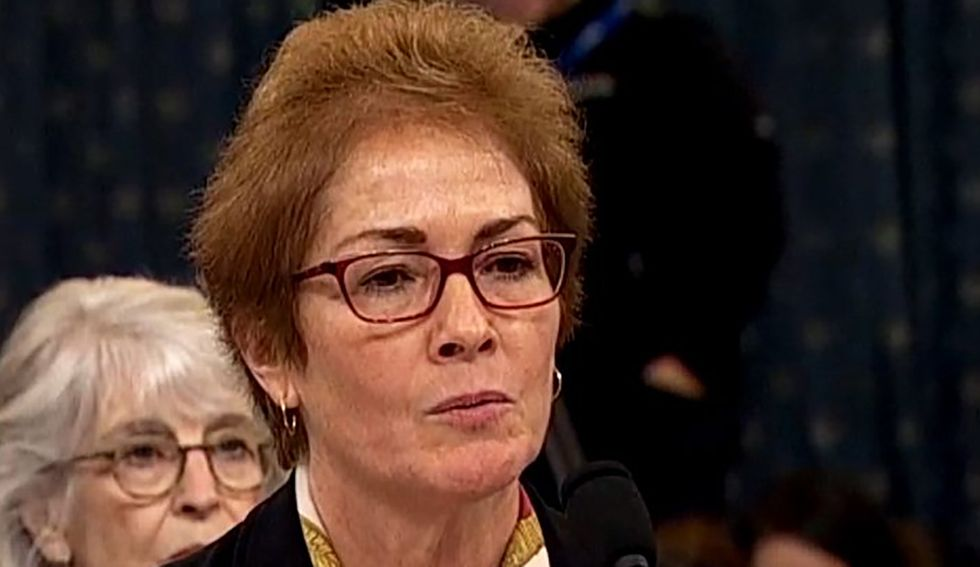 Marie Yovanovitch blasts Trump allies' 'storm of lies and conspiracies' in scathing Washington Post op-ed