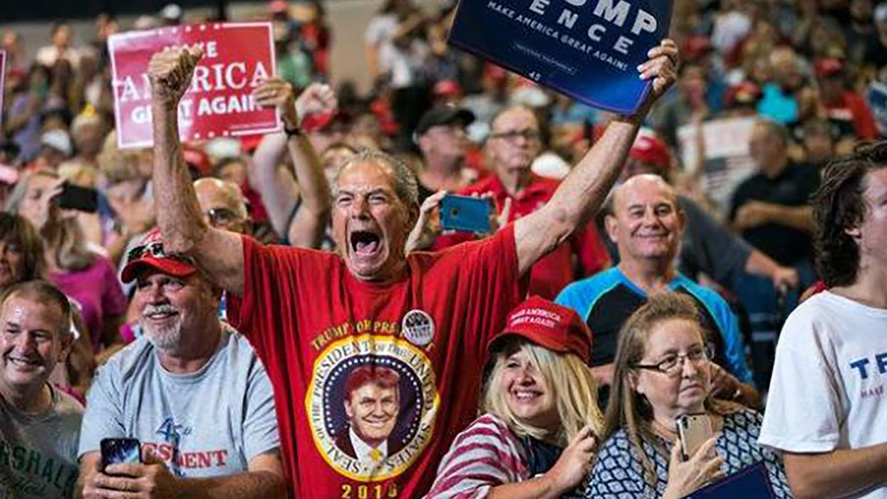 Trump supporters got hustled, fleeced and lied to — but don't be fooled. They still love him as much as ever