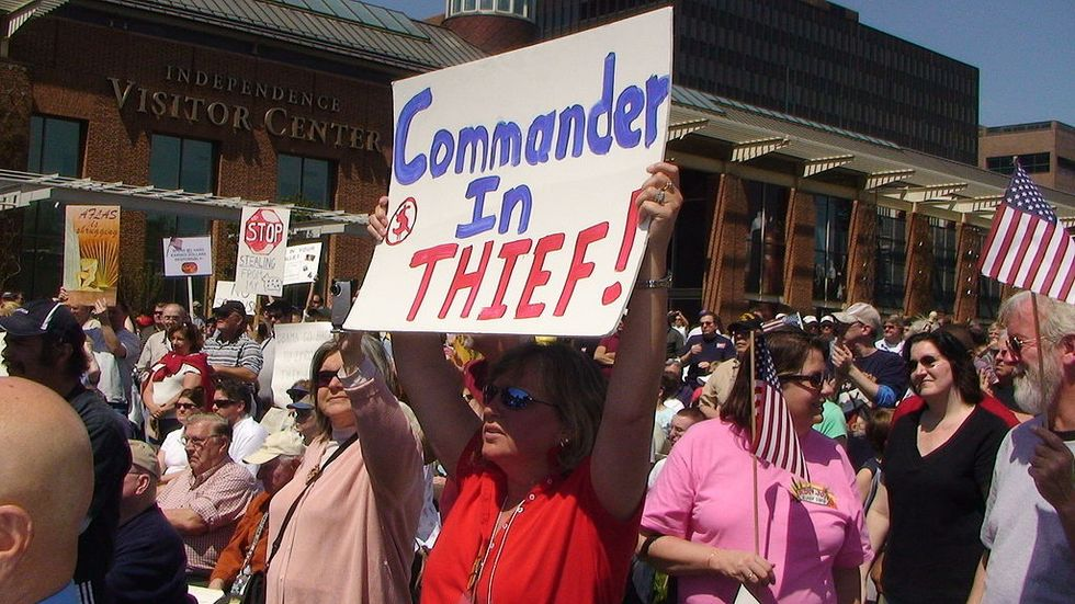 In retrospect, it's clear that the Tea Party was a nascent fascist movement