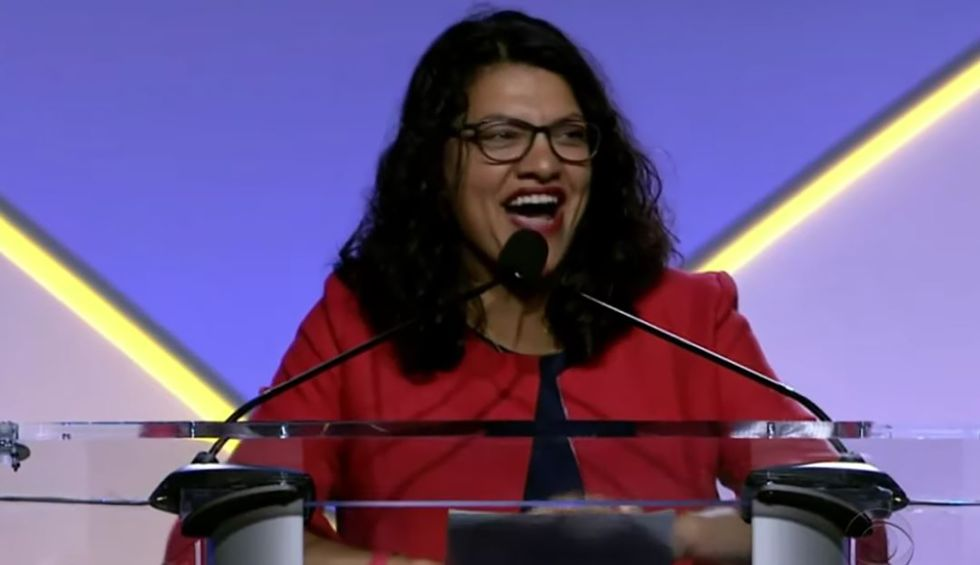 Rep. Rashida Tlaib: Trump's 'racist' plan would legalize the theft of Palestinian land