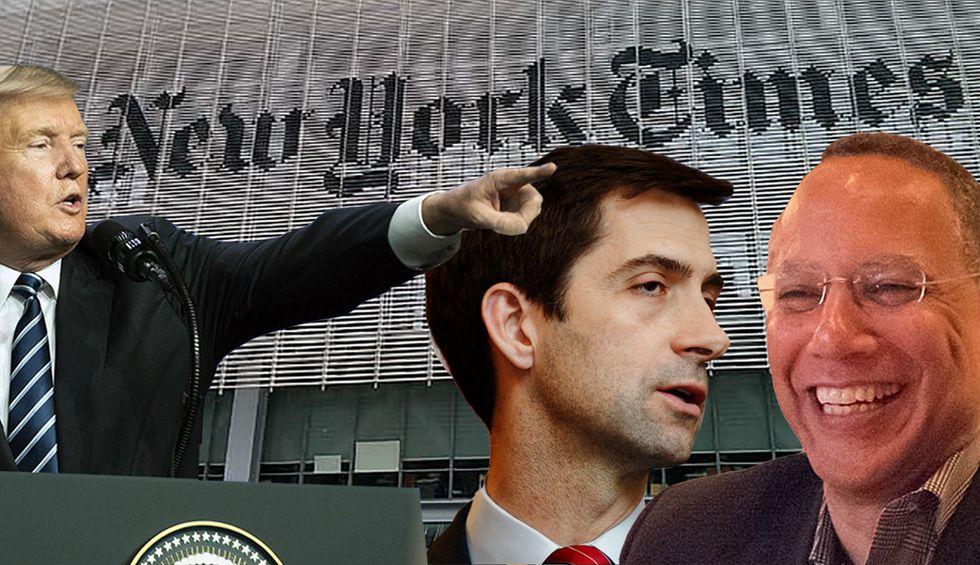 The American press is not destroying itself — it was already broken