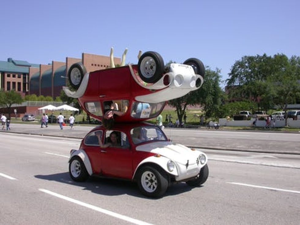 Buying Hitler's car: How the Volkswagen Beetle sparked America's art car movement