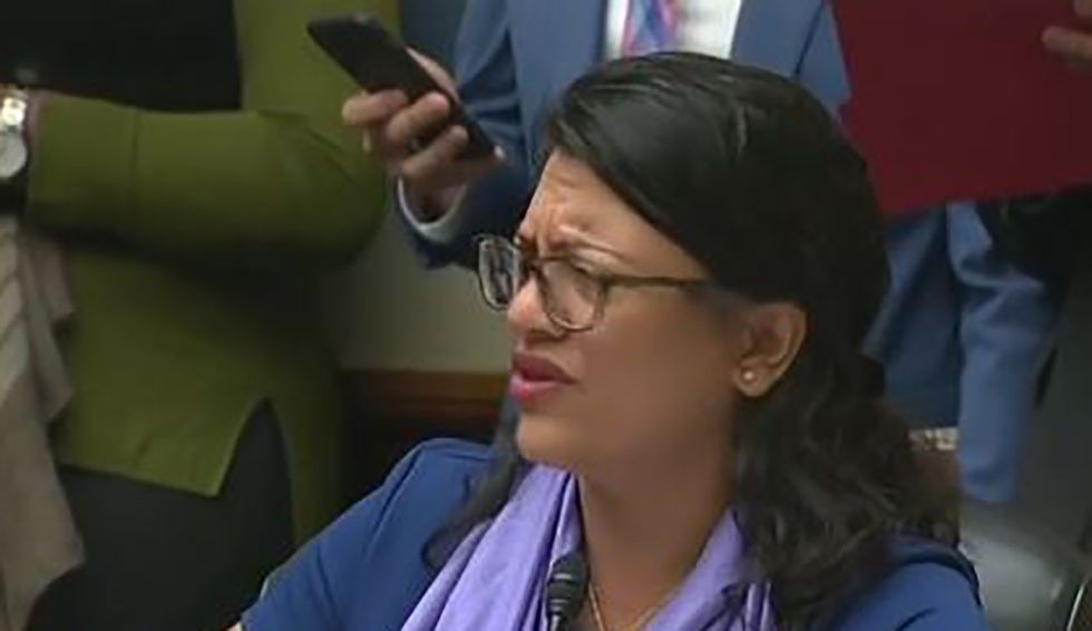 Trump attacks congresswoman Tlaib for suggesting Democrats jail lawbreaking White House officials