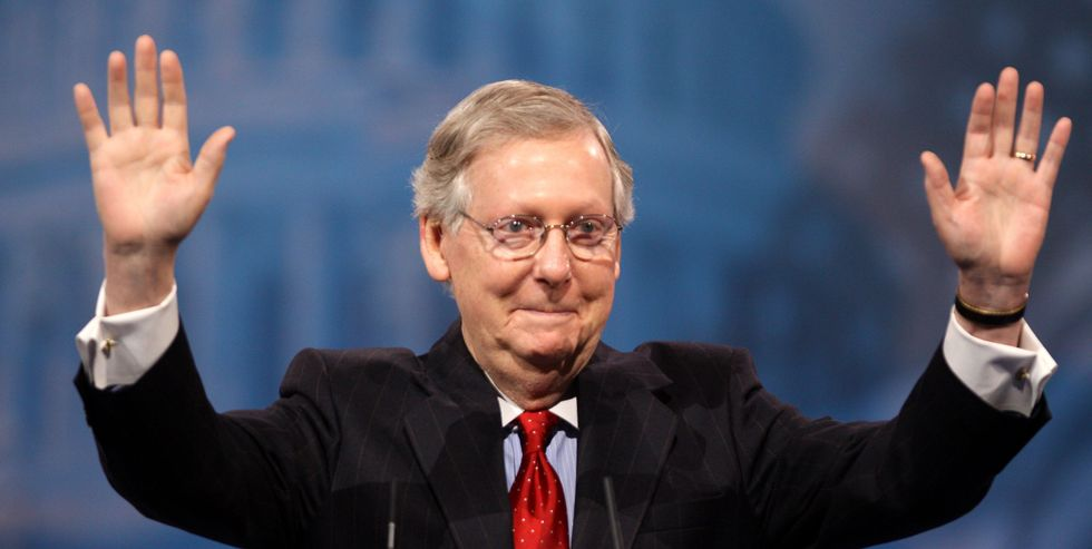 #MoscowMitchMcTreason trends after McConnell decries 'McCarthyism'