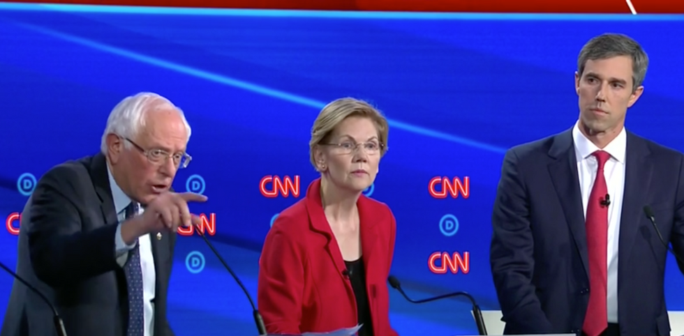 'Growing tension' simmers behind the scenes between Bernie Sanders and Elizabeth Warren in the 2020 race: report
